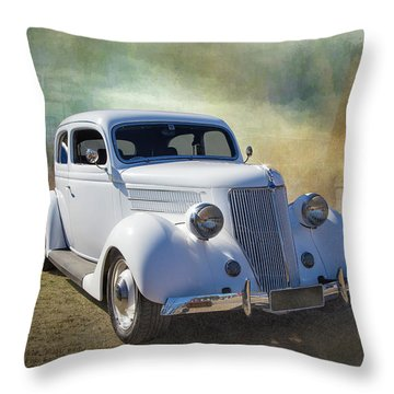 1936 Ford Throw Pillow