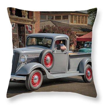 1936 Gmc T-14 Pickup  Throw Pillow