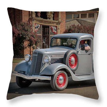1936 Gmc T-14 Pickup  Throw Pillow