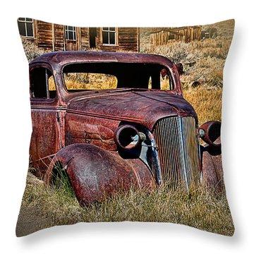 1937 Chevrolet Coupe Throw Pillow