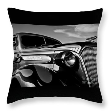 1937 Chevy Coupe Throw Pillow