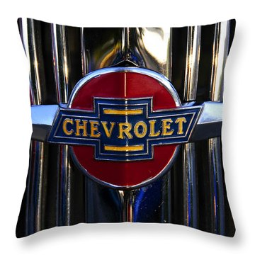 1937 Chevy Star Throw Pillow by David Lee Thompson