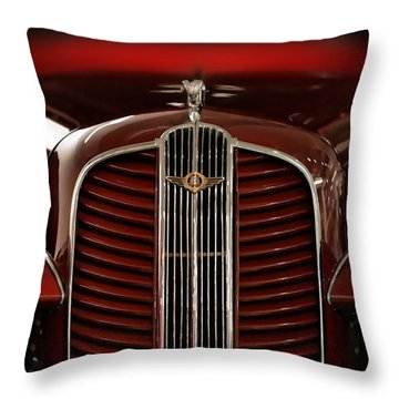 1937 Dodge Half-ton Panel Delivery Truck Throw Pillow by Gordon Dean II