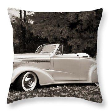 1938 Chevrolet Convertible Throw Pillow