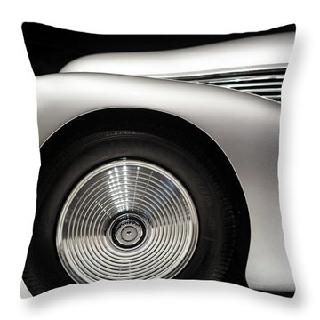 1938 Hispano-suiza H6b Xenia Throw Pillow by Wade Brooks