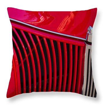 1940 Ford Pickup Grill Throw Pillow