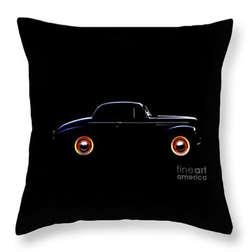 1940 Studebaker Business Coupe Throw Pillow