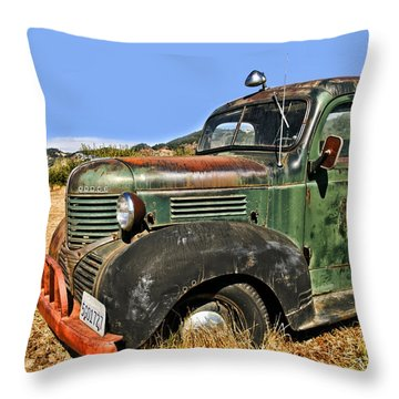1940s Dodge Truck Throw Pillow