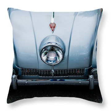 Throw Pillow featuring the photograph 1947 Tatra T87 by M G Whittingham