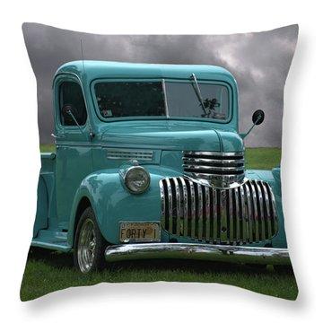 1941 Chevrolet Pickup Truck Throw Pillow