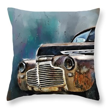 1941 Chevy Throw Pillow