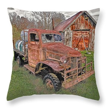 1941 Dodge Truck #2 Throw Pillow