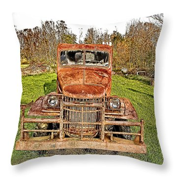 1941 Dodge Truck 3 Throw Pillow