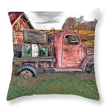 1941 Dodge Truck Throw Pillow