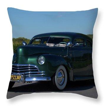 1941 Ford George Barris Custom Throw Pillow