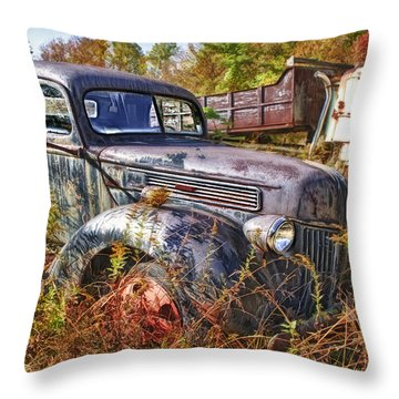 1941 Ford Truck Throw Pillow