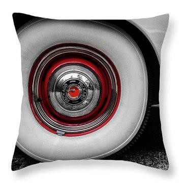 1941 Packard Convertible Wheels Throw Pillow