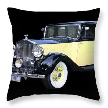 1941 Rolls-royce Phantom I I I  Throw Pillow