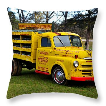 1942 Dodge Delivery Truck 001 Throw Pillow
