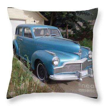 1942 Studebaker Commander Custom Crusing Sedan Throw Pillow