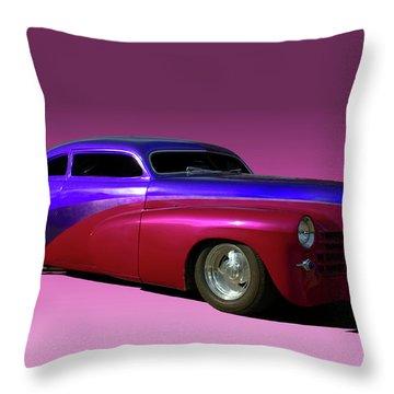 1947 Cadillac Radical Custom Throw Pillow