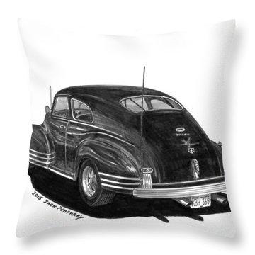 1947 Chevrolet Fleetline Throw Pillow