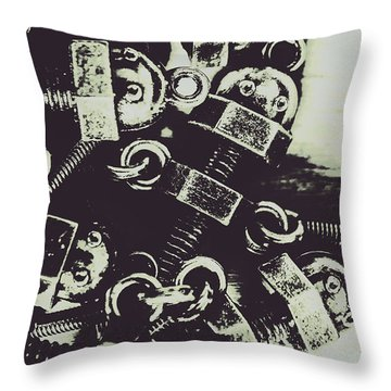 1947 Nutters Throw Pillow