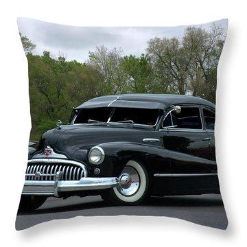 1948 Buick Throw Pillow