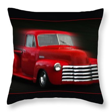 1948 Chevy Pickup Throw Pillow
