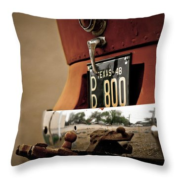 1948 Flxible Clipper Throw Pillow