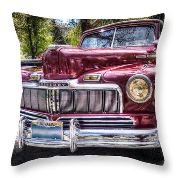 1948 Mercury Convertible Throw Pillow