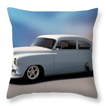Chevrolet Fleetline Throw Pillows | Fine Art America