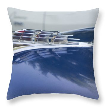 1949 Plymouth Super Deluxe Throw Pillow