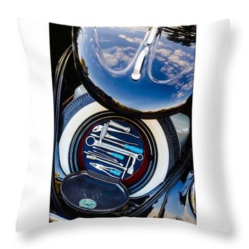 1949 Volkswagen Tool Kit Throw Pillow