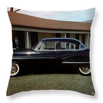 1950 Oldsmobile Futuramic 88 Convertible Throw Pillow
