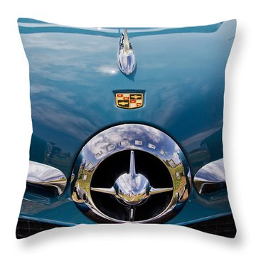 1950 Studebaker Throw Pillow by Roger Mullenhour