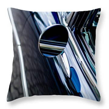 Throw Pillow featuring the photograph 1950s Chevrolet by M G Whittingham