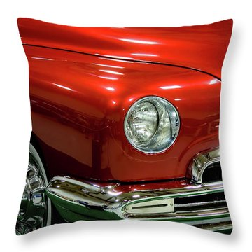 1951 Classic Lincoln Coupe Throw Pillow