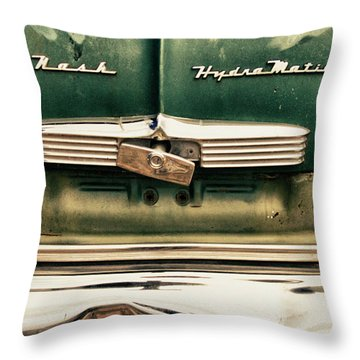 1951 Nash Ambassador Hydramatic Throw Pillow by James BO  Insogna