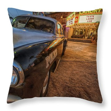 1952 Chevy  Throw Pillow by Kathy Adams Clark