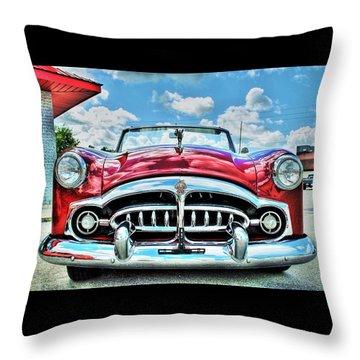 1952 Packard 250 Convertible Throw Pillow