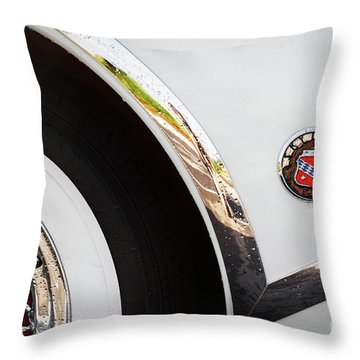 Throw Pillow featuring the photograph 1953 Buick Abstract 2 by Dennis Hedberg