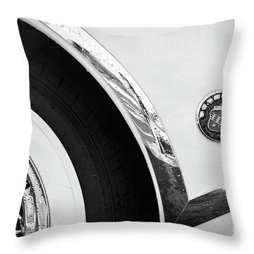 Throw Pillow featuring the photograph 1953 Buick Abstract  by Dennis Hedberg
