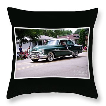 1953 Buick Special Throw Pillow