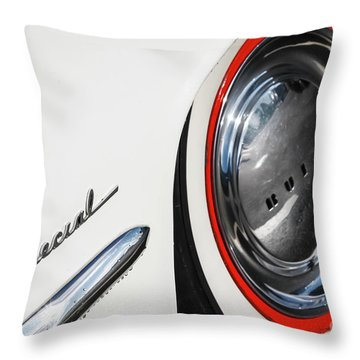 Throw Pillow featuring the photograph 1953 Special by Dennis Hedberg