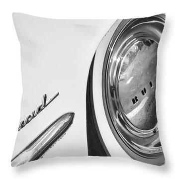 Throw Pillow featuring the photograph 1953 Special Monotone by Dennis Hedberg