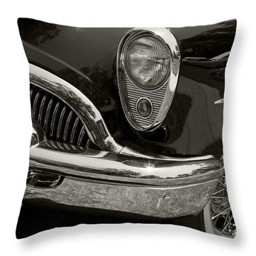 1954 Buick Roadmaster Throw Pillow by Dennis Hedberg