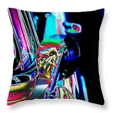 1954 Ford Side Mirror Throw Pillow
