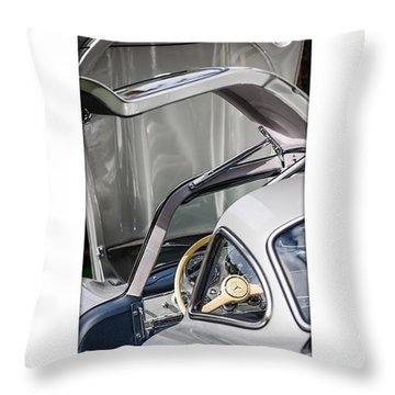 1954 Mercedes-benz 300sl Gullwing Throw Pillow