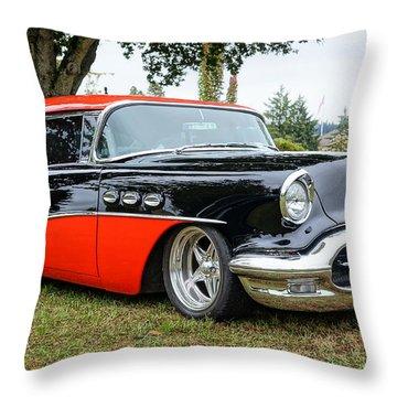 1956 Buick Riviera Throw Pillow